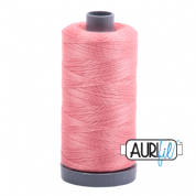 Aurifil 28 Cotton Thread - 2435 (Rose Pink)